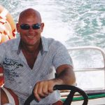 Skipper John Schmidt for Hinchinbrook Island Ferries